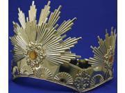 Sunburst Crown- Gold