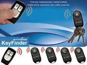Dr Tech® Wireless Remote Key Finder Locator with 4 Receivers --Remote Control, Pet, Wallet, Key Finder, etc.