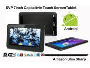 SVP® 7-inch Android 4.0, Google Play Store, Skype, YouTube, Netflix, Wifi, G-Sensor, Capacitive Touchscreen Tablet