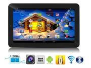 """SVP 7"""" Quad Core Android 4.2.2 Tablet PC with Keycase, Dual Camera, Capacitive 5 Point Multi-Touch Screen"""
