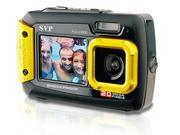 20MP Waterproof AQUA 8800 UnderWater Digital Camera Video recorder ( Yellow ) with 8GB card By SVP