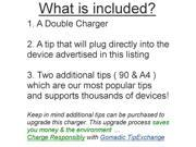 mini Double Car Charger with tips including compatible with the Hisense Sero 7 Pro M470BSA