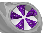 Virtue CrownSF - Dye Rotor - Crown SF - Purple