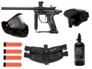 Kingman Spyder Fenix Paintball Pro Player Pack - Dust Diamond Black