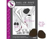 Talk To The Heel Ball Of Foot Cushion For Womens High Heels And Shoes Style 94002