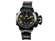 Shark SH030 Digital Army Led Men's Steel Sport Watch Black New