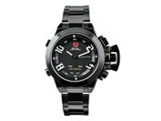 SHARK Date Day Mens Army Digital Led Sport Watch Black