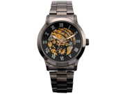 Timebear Men's Mechanical Skeleton Dial Stainless Steel Analog Watch