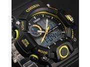 Timebear Waterproof Analog-Digital LCD Alarm Date Mens Military Sport Wrist Watch OHS217