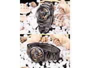 Timebear Classic Skeleton Dial Automatic Mechanical Women Analog Steel Dress Wrist Watch PMW130