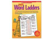 Daily Word Ladders, Grades 2-3, 112 Pages