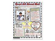 Instant Personal Poster Sets, Read All About Me, 17 x 22, 30/Set