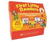 First Little Readers Level A, 100 books, teaching guide, PreK-2