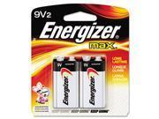 MAX Alkaline Batteries, 9V, 2 Batteries/Pack