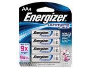 Energizer Ever4Pk Aa Ultimate Lithium L91Bp , 4 Batteries -