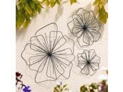 GARDMAN 8422 Poppy Wall Art Shape