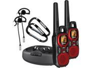 UNIDEN GMR3040-2CKHS 30 MILE 2WAY Radio  WITH CRADLE AND HEADSETS