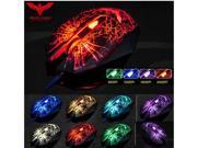 2014 Havit Magic Eagle 2400DPI 7D 6 Buttons Optical Usb Molten Gaming Mouse Razer MMO