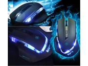NEW 6D SunSonny Top Pandinus Imperator III 6 Buttons X3 Optical Usb Gaming Mouse Mice BLACK
