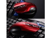 2400DPI Havit Magic Hawk X3 Wireless 6 Buttons Usb Optical Gaming PC Mouse Mice Red