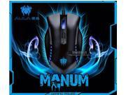2014 New 2000DPI 8D Aula Manum 7 Buttons X4 Optical Usb Pro-Gaming Mouse