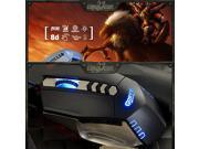 Ajazz 8D Griffin 4000DPI Optical Wired High-End Gaming Mouse RAZER CS WOW FPS CF