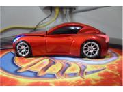 NEW Cool Model 3D Infiniti Car Shape Usb Optical Mouse for Laptop 4 Colors Mice RED