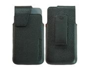 Original BlackBerry Leather Swivel Holster for BlackBerry Z10 Black
