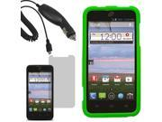 Protector Hard Shell Cover Case For ZTE Solar Z795G LCD Car Charger