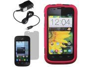 Protector Hard Shell Cover Case For ZTE Savvy Z750C Screen Home Charger