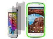 Hybrid Protector Hard Shell Stand Cover Case For Blu Life One 2 LCD Film