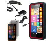 Robot Hard Shell Stand Cover Case For Nokia Lumia 635 3x LCD Car Home Charger