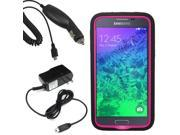 Tough Hard Shell Stand Cover Case Samsung Galaxy S 5 Prime G906 Car Home Charger