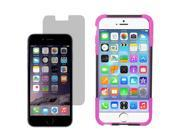 "Hybrid Hard Shell Stand Cover Case For Apple iPhone 6 Plus 5.5"" LCD Guard"