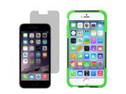 """Hybrid Hard Shell Stand Cover Case For Apple iPhone 6 Plus 5.5"""" LCD Guard"""