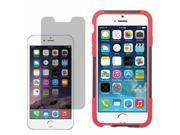 """Hybrid Hard Shell Stand Cover Case For Apple iPhone 6 4.7"""" LCD Guard"""