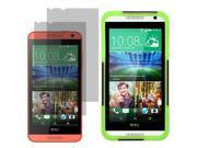 Hybrid Hard Shell Stand Cover Case For HTC Desire 610 2x LCD Guard