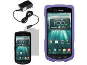 Hard Shell Cover Case For Verizon Kyocera Brigadier E6782 LCD Home Charger