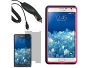 Tough Hard Shell Stand Case For Samsung Galaxy Note Edge N915S LCD Car Charger