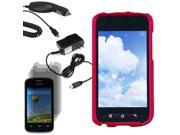 Protector Hard Shell Case For ZTE Prelude 2 Z667G 3x Screen Car Home Charger
