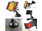 Cellet Universal Clamp Dashboard Windshield w/ Sticky Pad Phone Holder for Smartphones