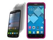 Hard Shell Case For Alcatel One Touch Pop Mega LTE A995G 3x LCD Guard