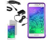 Protector Shell Cover Case For Samsung Galaxy Alpha G850 Screen Car Home Charger