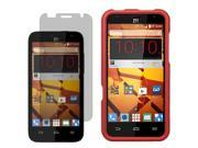 Protector Hard Shell Cover Case For Boost Mobile ZTE Speed N9130 LCD Guard