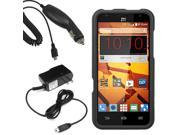 Protector Hard Shell Cover Case Fr Boost Mobile ZTE Speed N9130 Car Home Charger