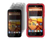 Hybrid Protector Hard Shell Stand Case ZTE Speed  x3 LCD Film