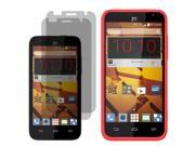 Rugged Silicone Gel Skin Case For ZTE Speed  2 LCD Guard