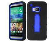 Tough Hard Shell Stand Cover Case For HTC One M9 Screen Film