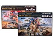 Axis And Allies Europe & Pacific 1940 2nd Edition Board Games Combo