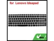 Silicone Laptop Keyboard Protective Film Black Clear for Lenovo Y570D/Y570/Z570